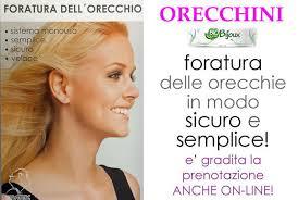 SERVIZIO FORATURA LOBI AURICOLARI (EAR PIERCING)